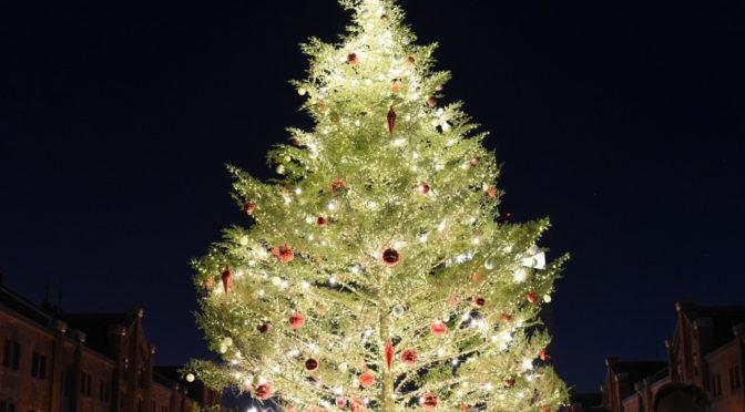 横浜のクリスマスツリー おススメ5選